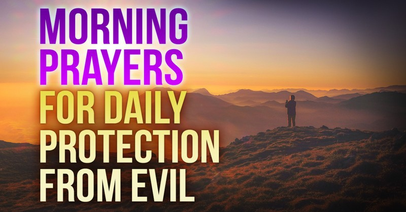 morning prayers for protection