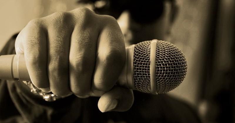microphone music rap rapper gangster