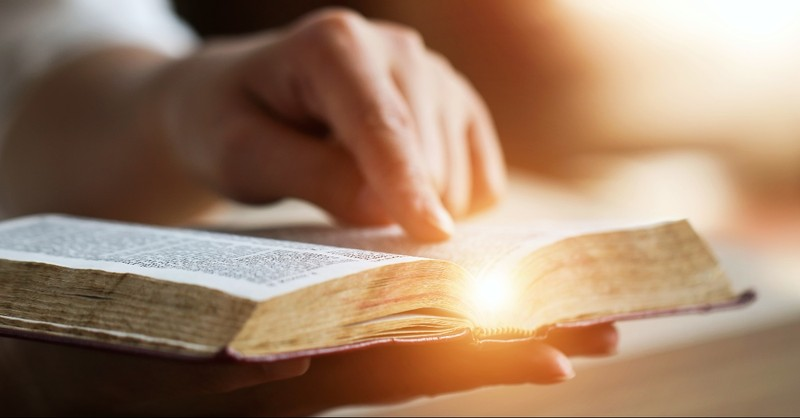 Lighted Bible