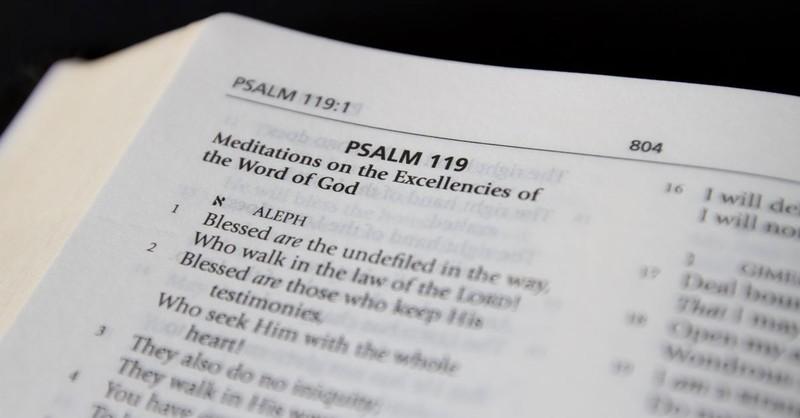 bible psalm 119 verse chapter book scripture