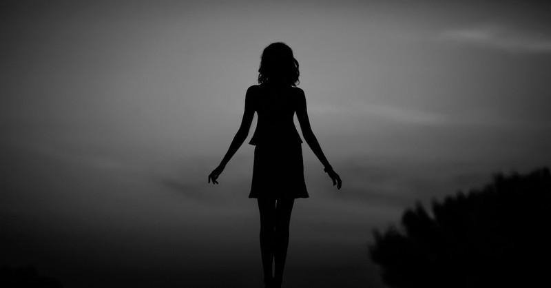 woman in shadows, Lilith