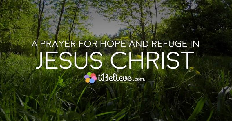 prayer for hope in jesus christ