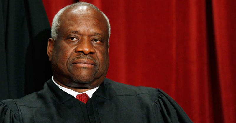 Clarence Thomas Blasts Media for Coverage, Says Justices Are Not 'Like a Politician'