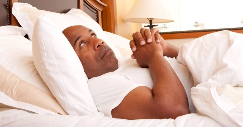 pray praying prayer bedtime distracted looking up