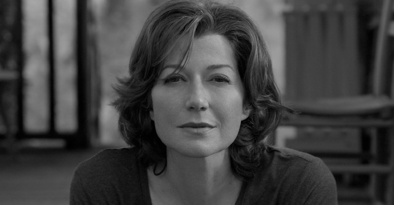 Close-up of Christian music artist Amy Grant for the move Jesus Music