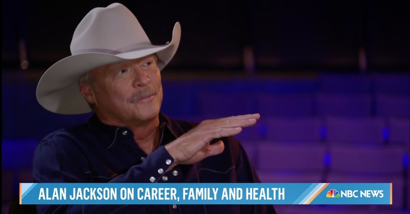 Country Star Alan Jackson Reveals Health Condition He Kept Secret For 10 Years