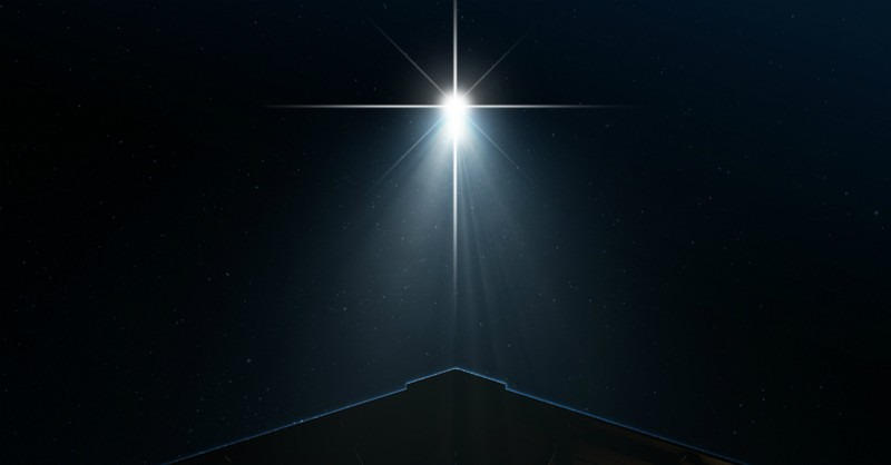 Christmas Star over Bethlehem