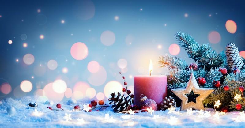 christmas candles, advent bible study