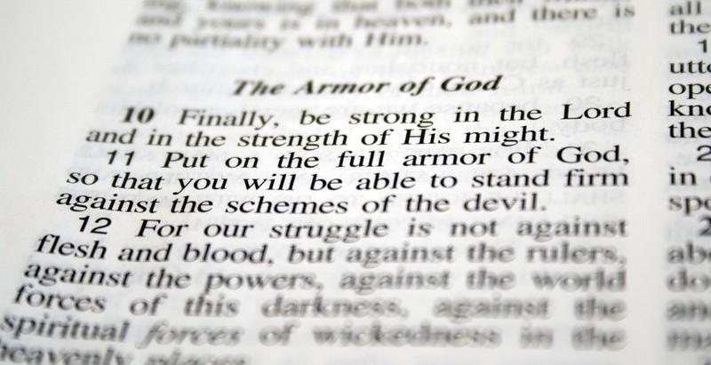 Bible Verses about Spiritual Warfare: Put on the Full Armor of God