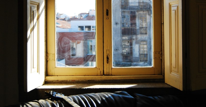 window seat, simple ways to start your morning when life is overwhelming