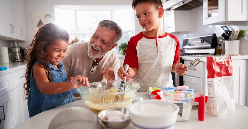 Why to Have Grandparents Help You Homeschool