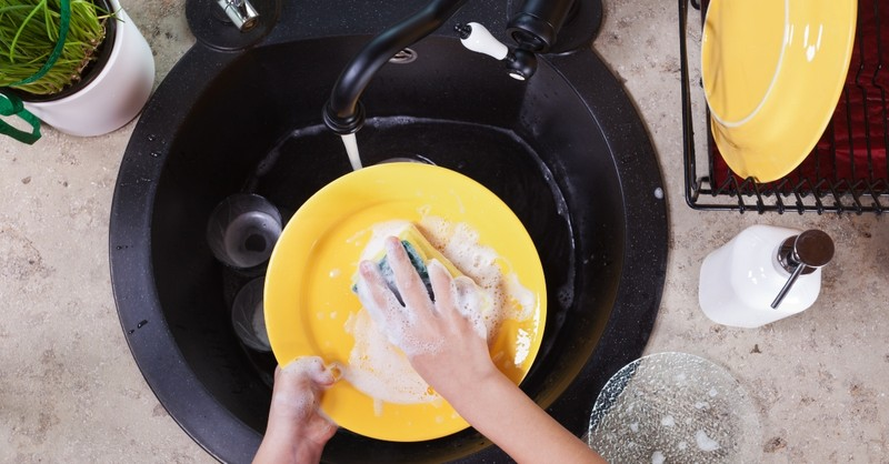 washing dishes, acts of service examples