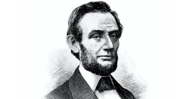 Drawing of Abraham Lincoln