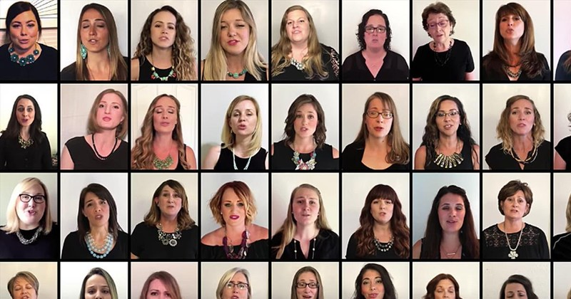 36 Voices Create Virtual Choir and Sing 'Down to the River to Pray'
