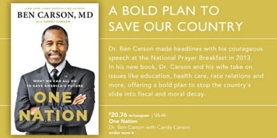 Knowledge, Compassion, Prayer Will Make America 'One Nation' Again: A Conversation with Dr. Ben Carson