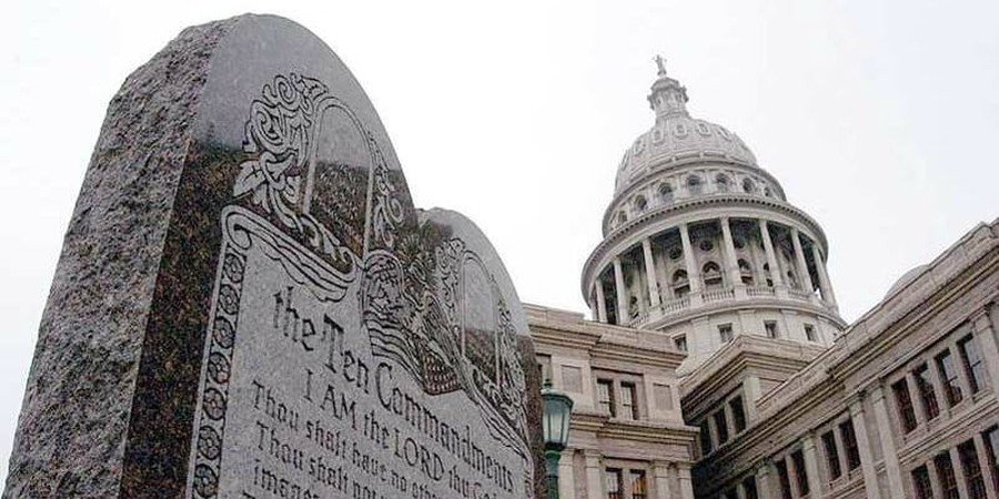 Oklahoma Supreme Court Says Ten Commandment Monument Must Go