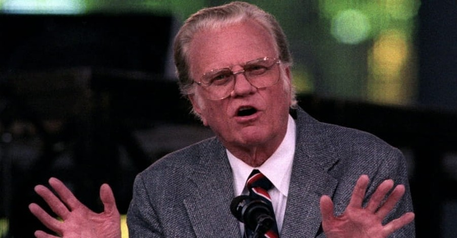 Billy Graham: Only Person God Can't Forgive is One who Doesn't Seek Forgiveness