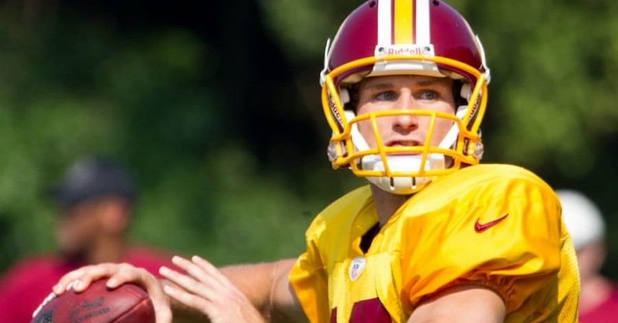 Redskins Quarterback Kirk Cousins Says His Trials were Part of God's Plan