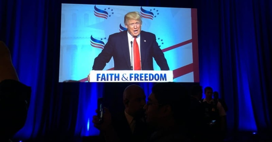 Trump Says He Will Abolish Religious Freedom Restricting Amendment