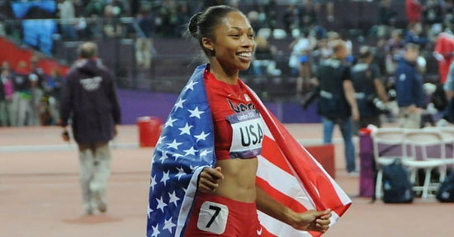 U.S. Olympic Runner Allyson Felix: 'Faith Leads My Life'