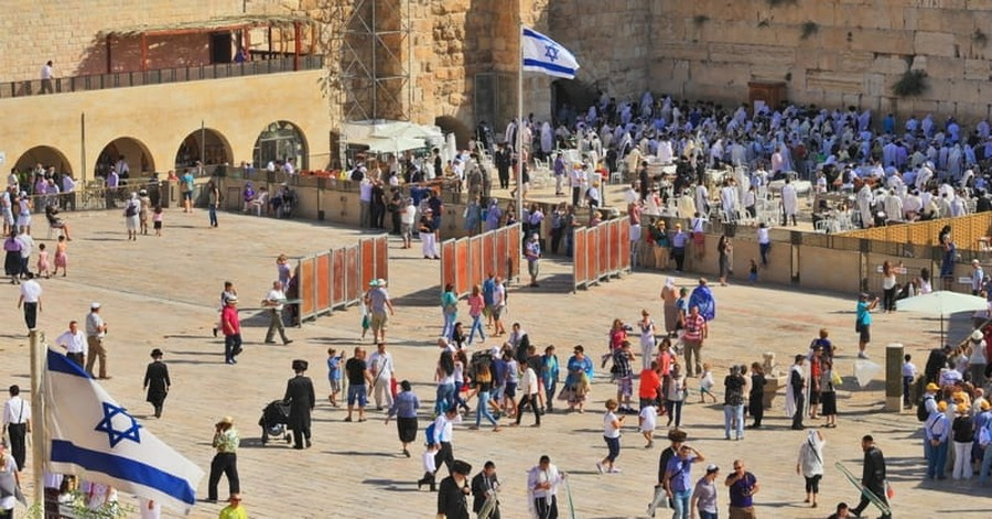 Christians Celebrate Jewish Festival of Sukkot in Jerusalem