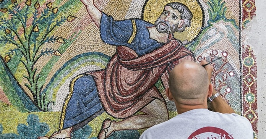 Bethlehem Shrine's Treasures Being Restored