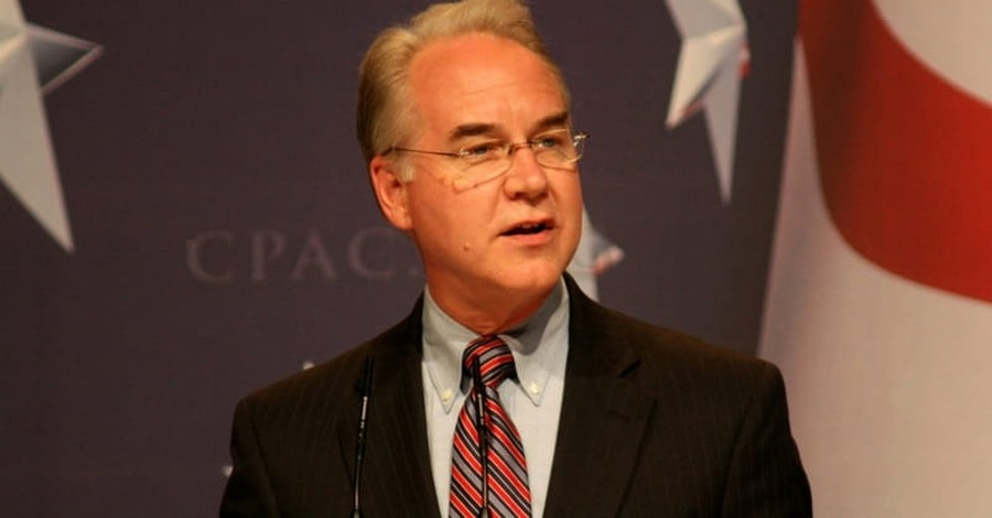 Senate Confirms Pro-Life Tom Price for Health and Human Services Secretary