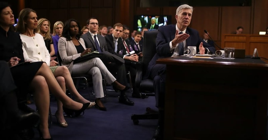 Three Senate Democrats Support Judge Gorsuch