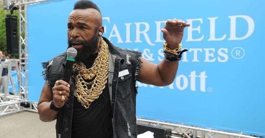 Actor Mr. T Shares Importance of Faith in His Life