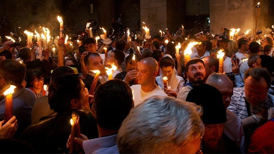 Thousands of Christians Expected for Rapturous Holy Fire Ceremony