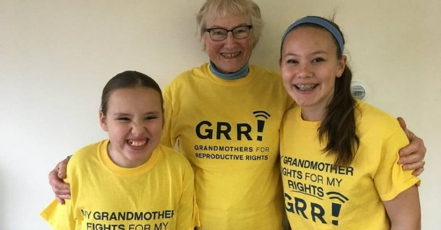 Grandmothers for Reproductive Rights Group Gains Attention of Planned Parenthood