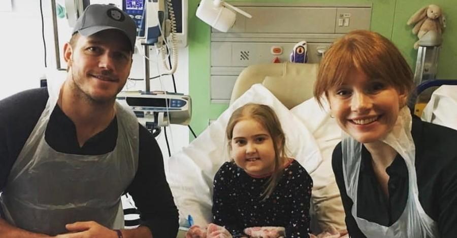Christian Actor Chris Pratt Spreads Cheer to Hospitalized Children