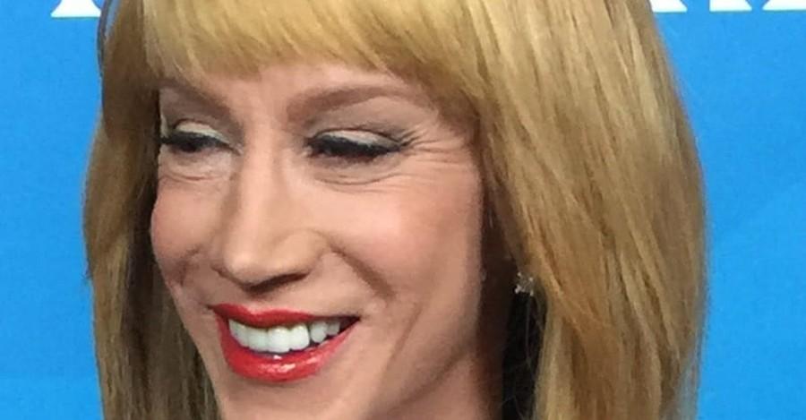 CNN Fires Kathy Griffin over Disturbing Photos Mocking President Trump