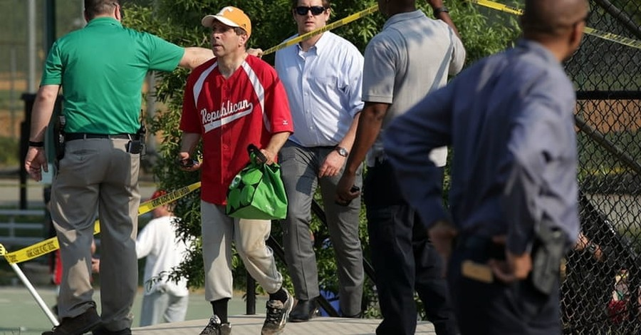 Congressional Ballgame Goes on Despite Tragic Shooting