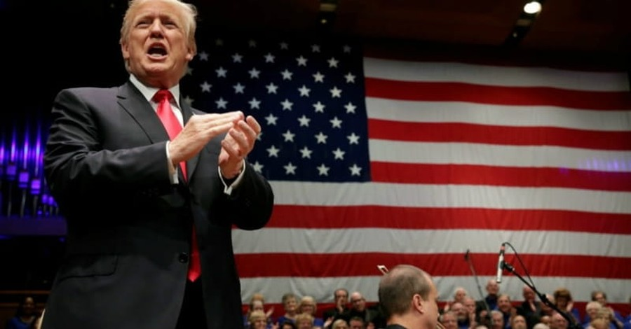 President Trump Promises Support to Military, Evangelicals at Fourth of July Event