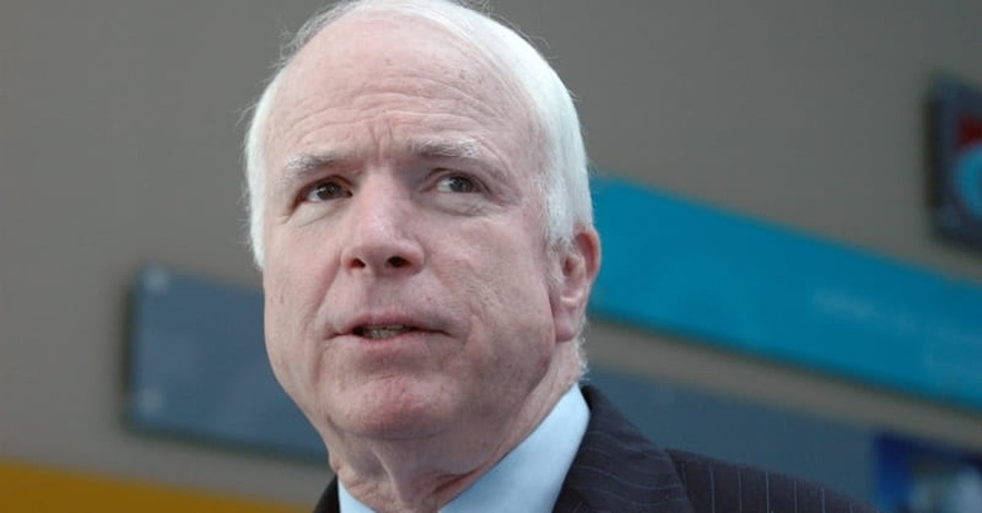 Politicians Extend Prayers, Well Wishes to Sen. John McCain after Brain Cancer Announcement
