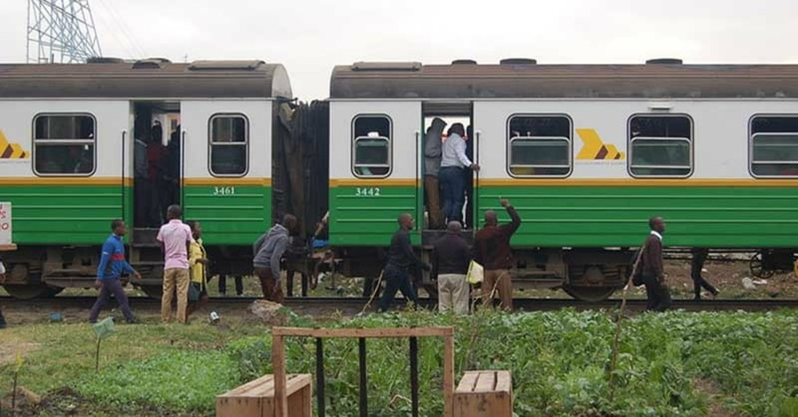 Commuting to Nairobi, the Train becomes a Church