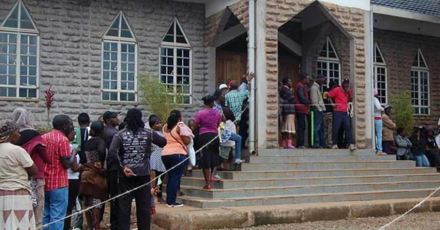 Kenya's Presidential Race Takes Pages from the Bible