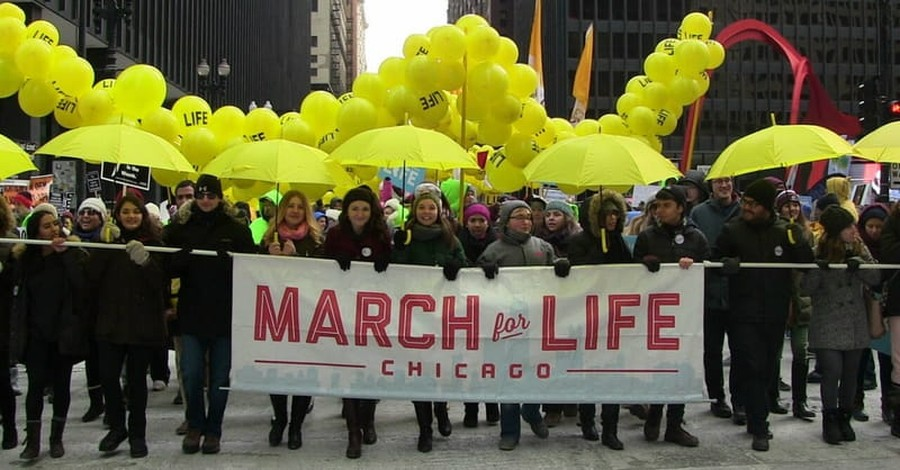 Chicago March for Life Draws Record Crowd