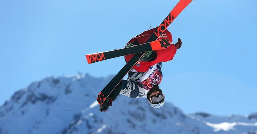 Skier Nick Goepper Gets 'Gnarly' with God