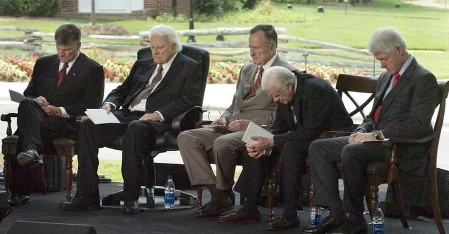 Presidents Pay Tribute to Rev. Billy Graham