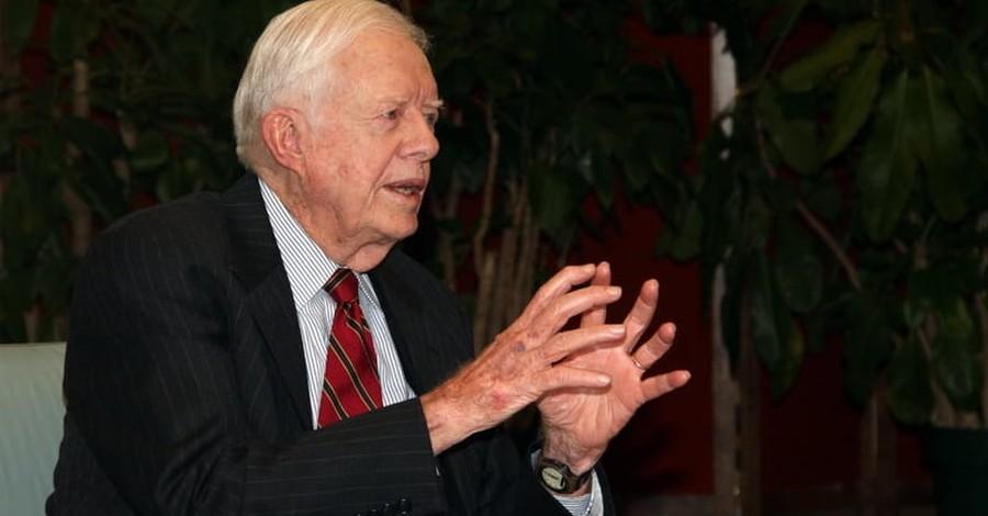 Jimmy Carter, 93, Talks about His New Book: 'Faith'