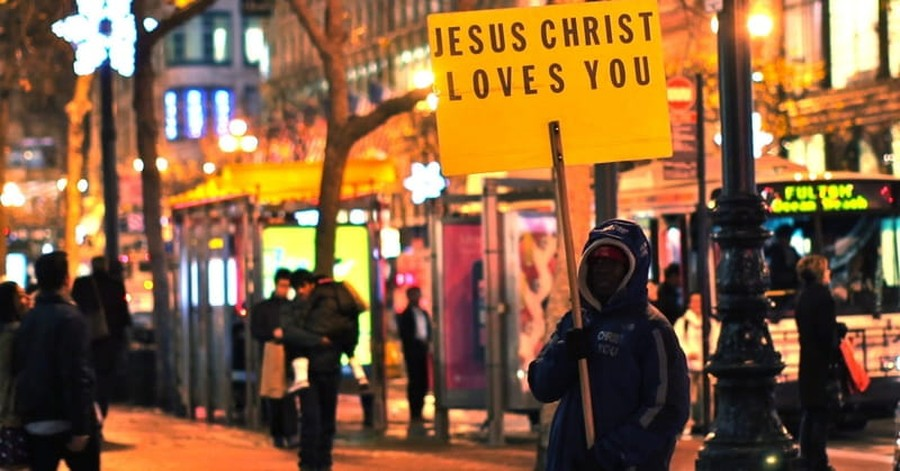 Church Told They Can't Print Word 'Jesus' on Signs at Public Shopping Center