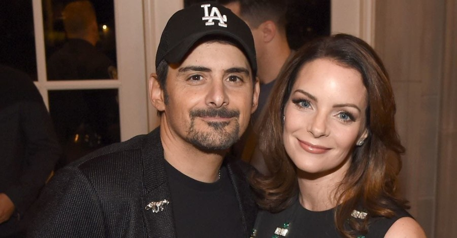 Brad Paisley and Wife Partner with Christian University to Open Free Grocery Store for Families in Need