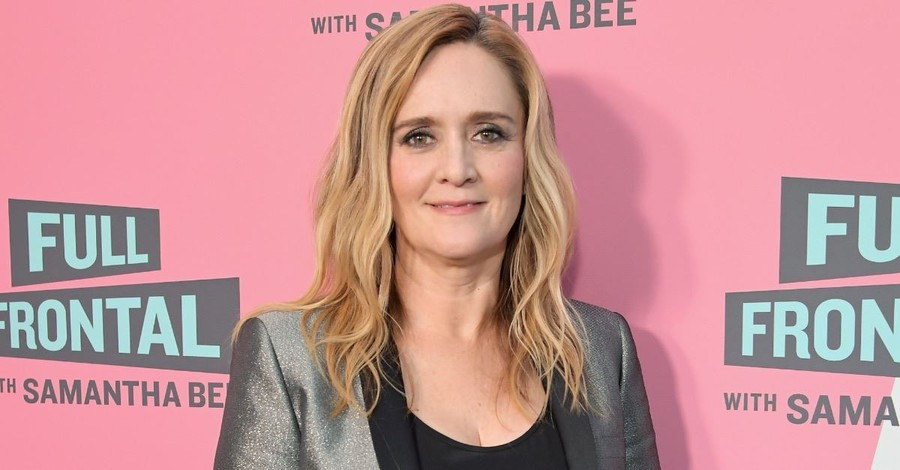 Comedian Samantha Bee Shows I.C.E. Agents Raiding a Nativity Scene in Christmas Special Promotion