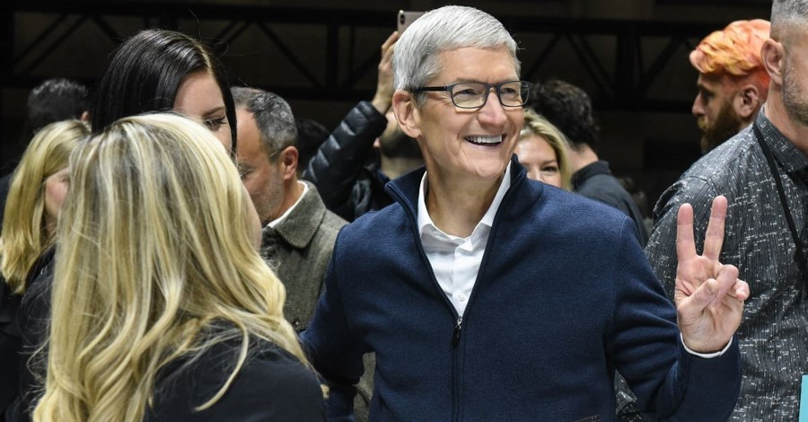 Apple's CEO Tim Cook Commits to Censoring Speech against the Company's Agenda, Franklin Graham Responds