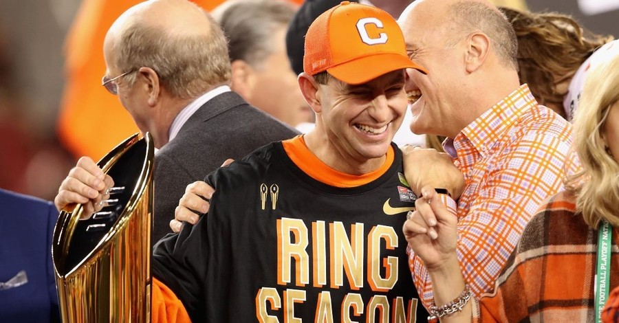 'All the Glory' Goes to Christ, Says Clemson Coach Dabo Swinney after National Title