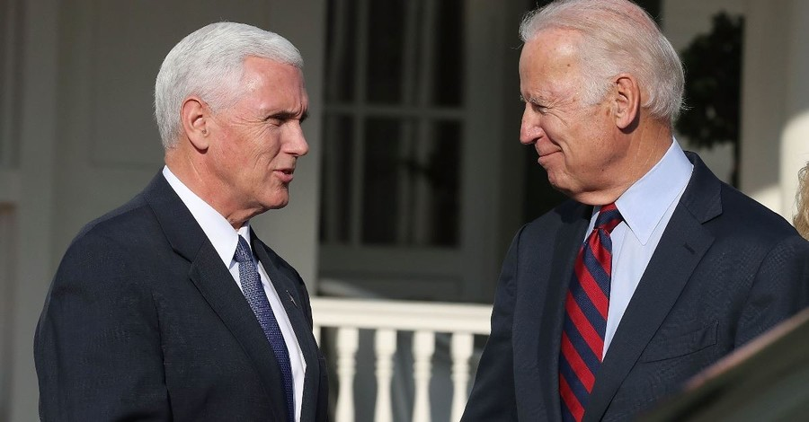 What Happened When Joe Biden Called Mike Pence 'a Decent Guy'?