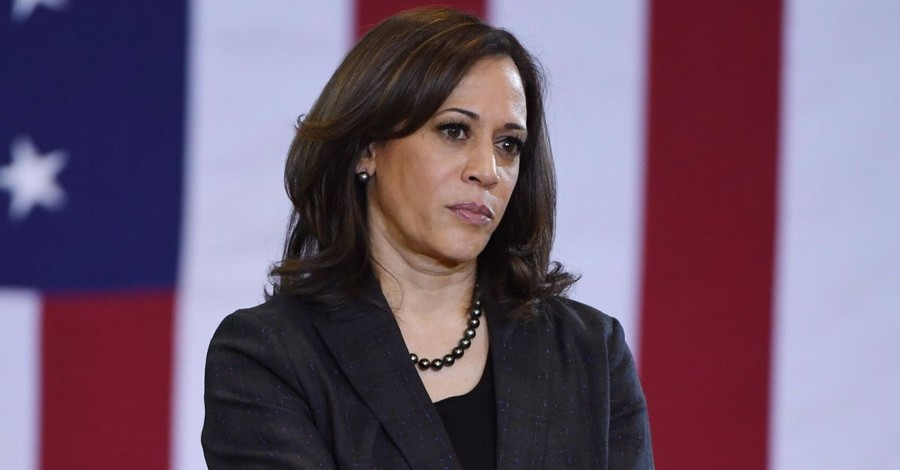 Senator Kamala Harris Takes Aim at Vice President Pence for Following 'Billy Graham Rule'