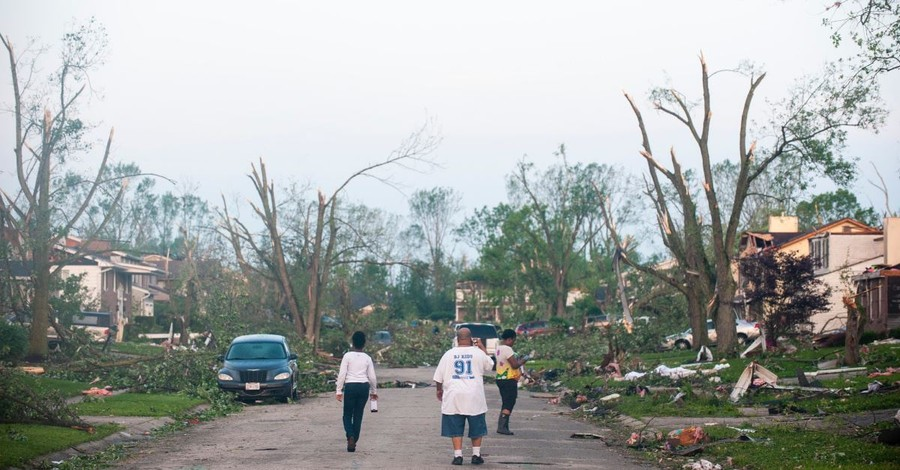 Tornadoes Level Entire Communities in Indiana and Ohio